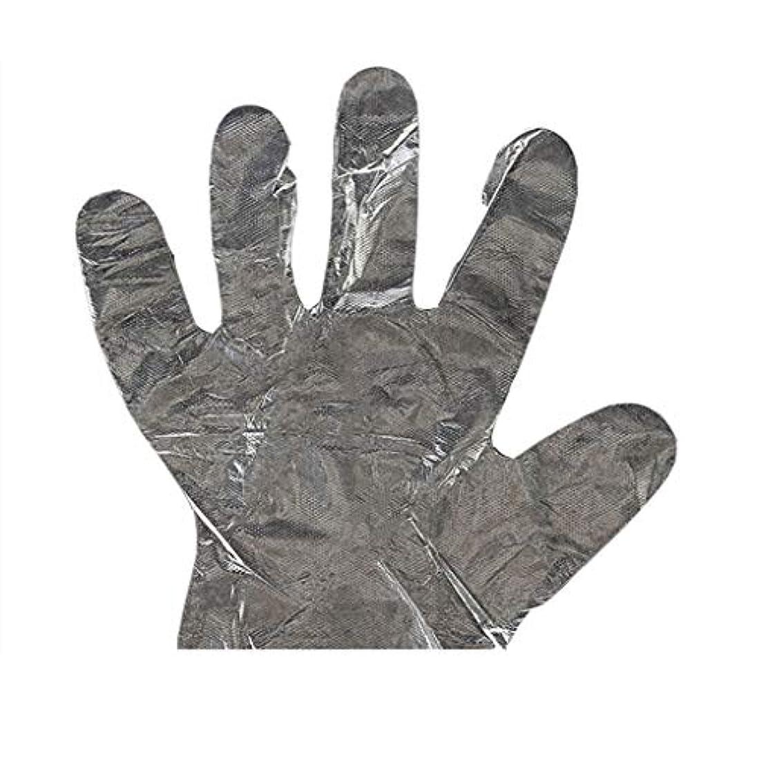 ゲスト好む理想的手袋の使い捨て手袋PEの衛生的な食糧手袋100パッケージ