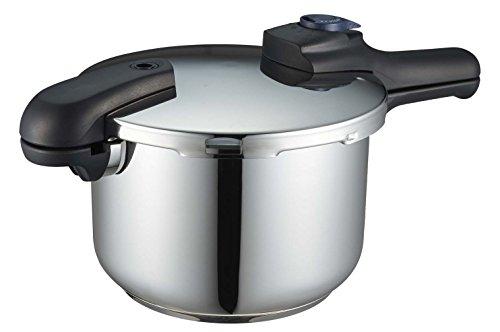 パール金属:クイックエコ H-5042圧力鍋 5.5L