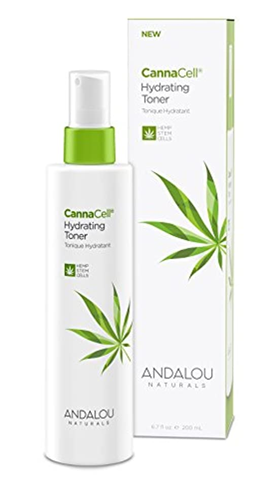 打倒反抗ステッチオーガニック ボタニカル 化粧水 トナー ナチュラル フルーツ幹細胞 ヘンプ幹細胞 「 CannaCell® ハイドレーティングトナー 」 ANDALOU naturals アンダルー ナチュラルズ