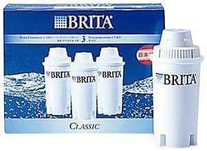 BRITA Classic 交換用フィルターカートリッジ 3本セット