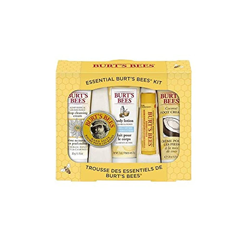 パッチ打たれたトラックこれらBurt's Bees エッセンシャル ビューティー Gift Set 5点セット