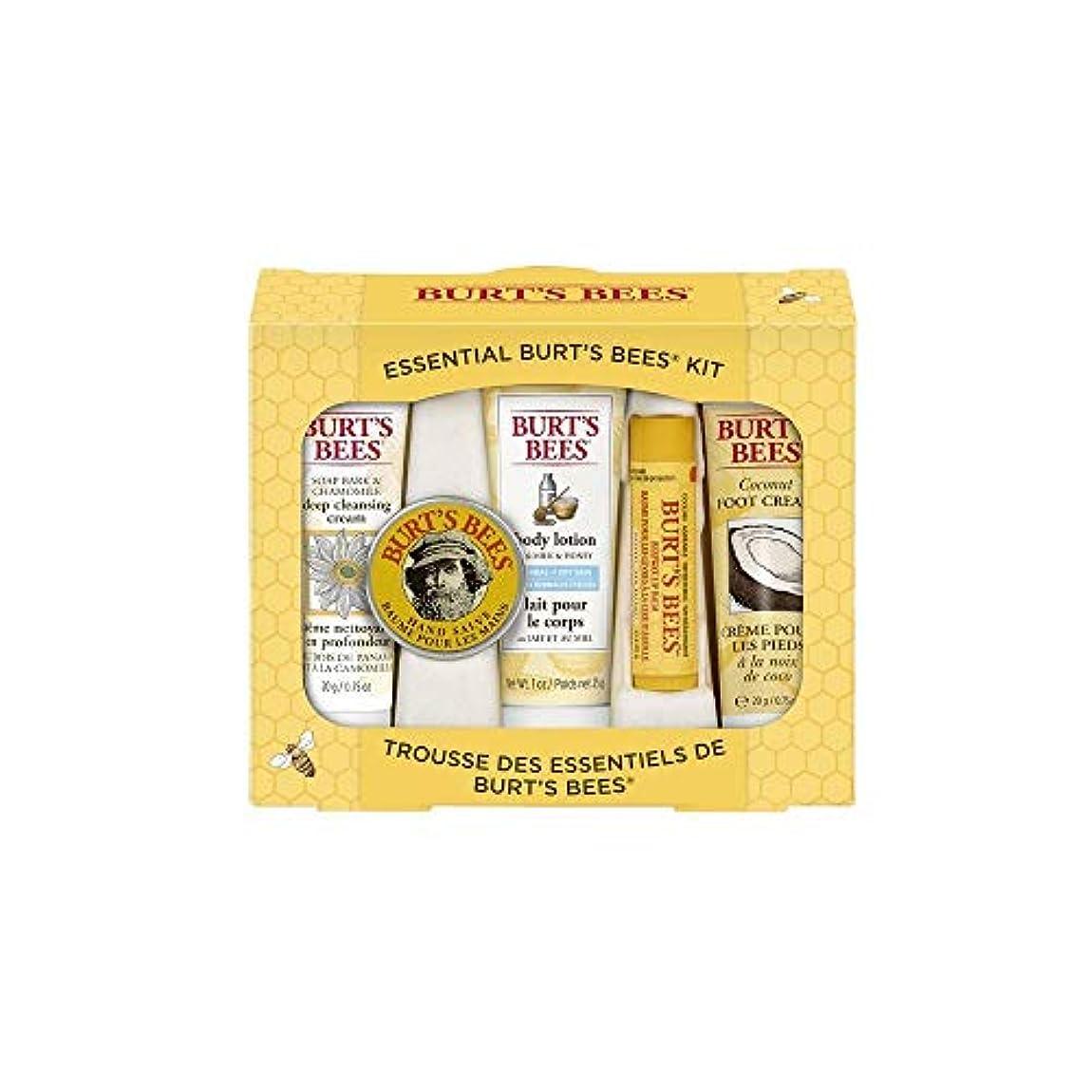 死んでいる偽装する改修するBurt's Bees エッセンシャル ビューティー Gift Set 5点セット