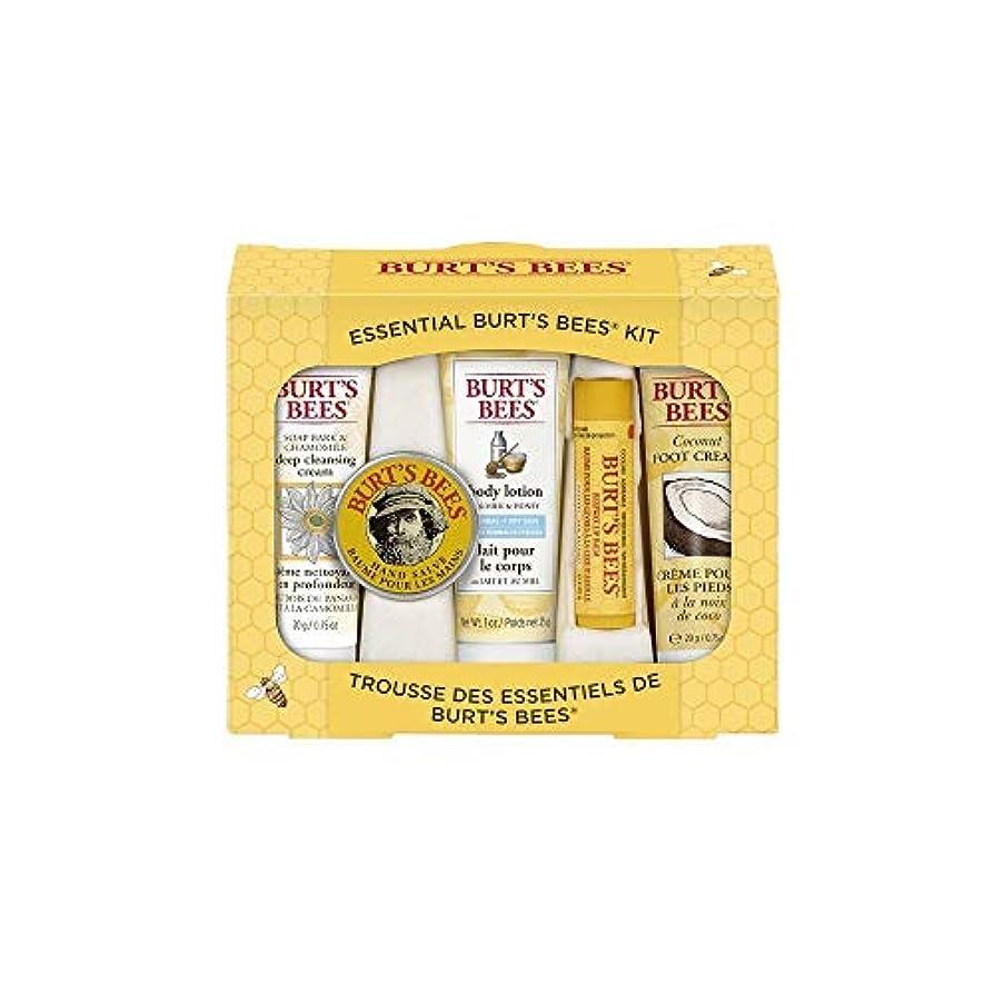 恐ろしいですアジテーションワードローブBurt's Bees エッセンシャル ビューティー Gift Set 5点セット