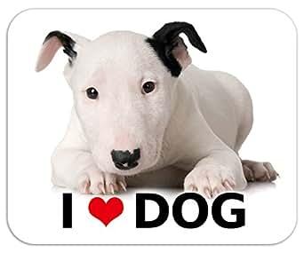 kmag 犬マグネット I love dog ブルテリア