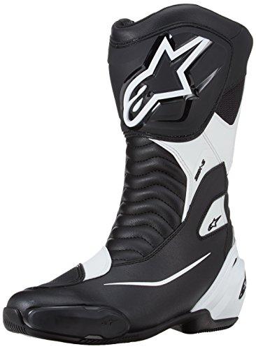 alpinestars(アルパインスターズ) バイクブーツ ブラック/ホワイト (EUR 42/26.5cm) SMX-Sブーツ 1691470142