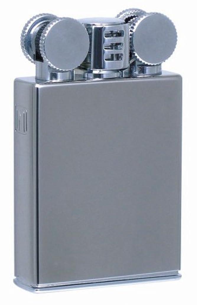 シールバイソンログMARVELOUS(マーベラス) オイルライター Type-N/W2 日本製 風防付き クローム
