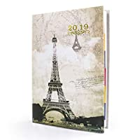 2019 Planner,Daily/Weekly/Monthly Academic Planner with Calendar,A5 Paper to Achieve Your Goals & Improve Productivity,8.3'' × 5.8'' [並行輸入品]