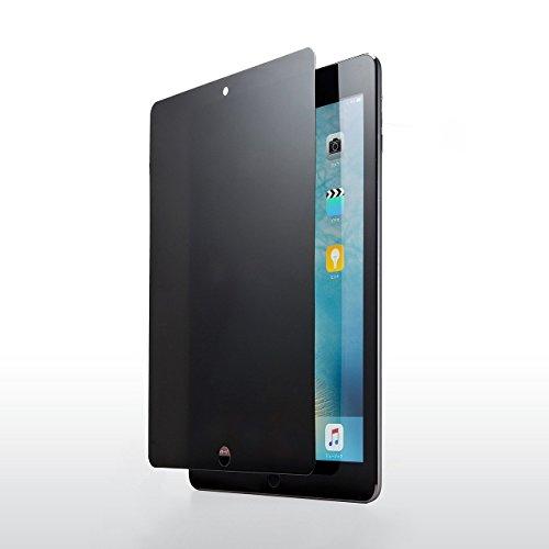 サンワダイレクト iPad Pro 9.7 / 9.7インチiPad (2017) / Air2 / Air 専用 プライバシーガラスフィルム セキュリティー対策 上下左右覗き見防止 硬度9H 200-LCD030P