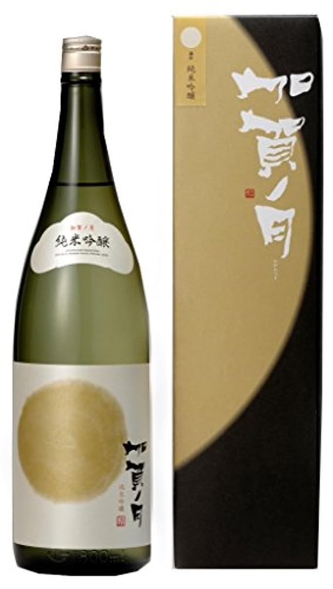 劇的動作しっとり加越 加賀ノ月 満月 純米吟醸 [ 日本酒 1800ml ] [ギフトBox入り]