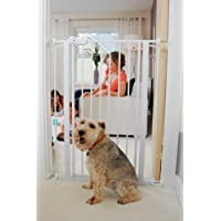 Bettacare Child and Pet Gate, 75-83 x 104 cm, White by Bettacare