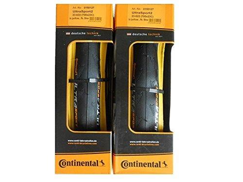 Continental (コンチネンタル)  UltraSport2 700c 2本セット B01MXMIWW6 1枚目