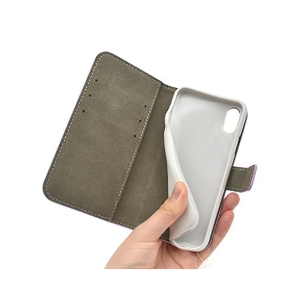 PLATA iPhone X ケース 手帳型 ...の紹介画像7