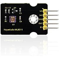 KEYESTUDIO GY-ML8511 UVセンサモジュール for Arduino(ブラック&環境にやさしい)