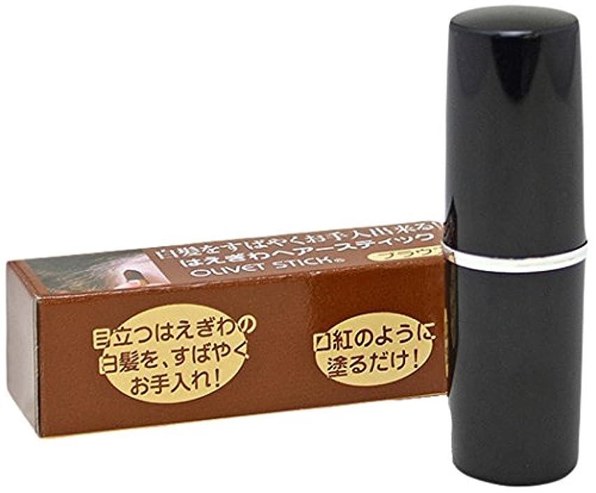 三角キャンドルエッセンス美の友オリベットスティック(ブラウン)3.8g