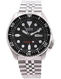 セイコー SEIKO ダイバーズ ブラックボーイ 自動巻き 腕時計 SKX007K2 ブラック x シルバー [並行輸入品]