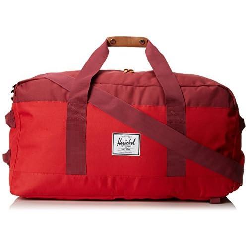 [ハーシェルサプライ] Herschel Supply Outfitter Luggage 10040-00453-OS Red/Burgundy/Rust (Red/Burgundy/Rust)