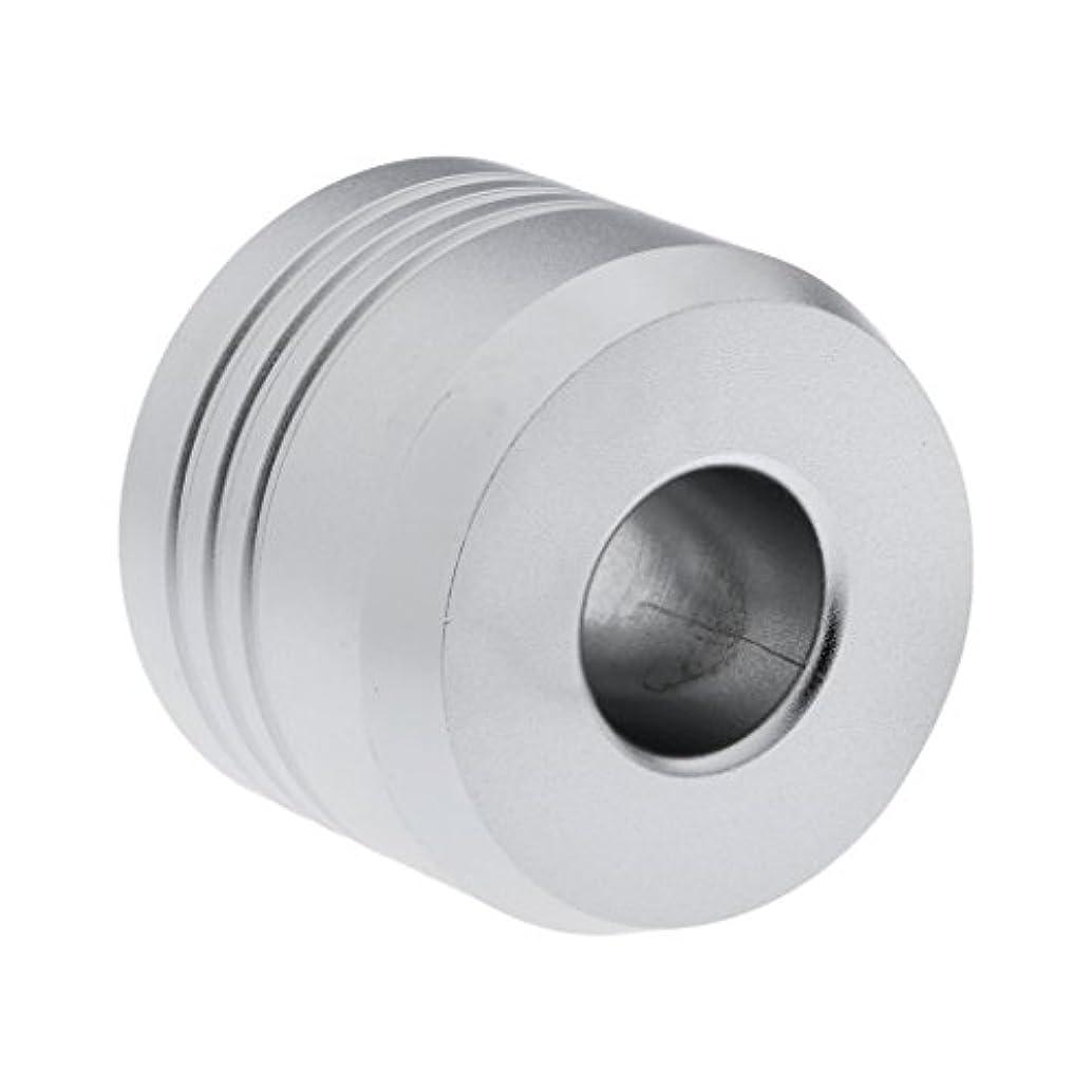 夫婦保存調和Homyl カミソリスタンド スタンド シェービング カミソリホルダー ベース サポート 調節可 ミニサイズ デザイン 場所を節約 2色選べ   - 銀