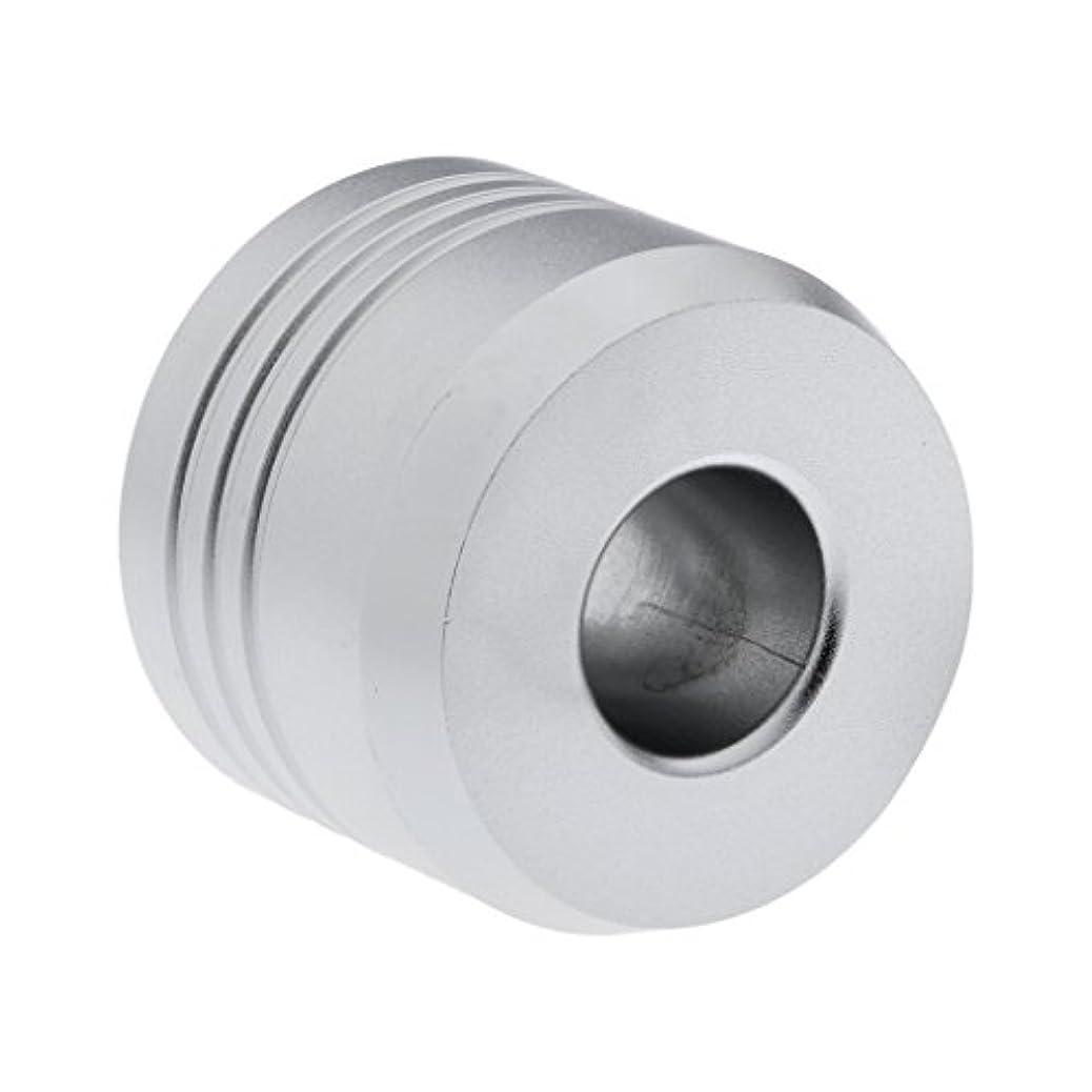 Homyl カミソリスタンド スタンド シェービング カミソリホルダー ベース サポート 調節可 ミニサイズ デザイン 場所を節約 2色選べ   - 銀