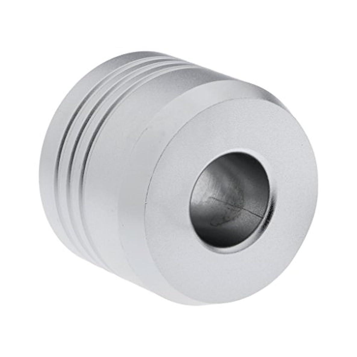 テレックス筋肉のセマフォHomyl カミソリスタンド スタンド シェービング カミソリホルダー ベース サポート 調節可 ミニサイズ デザイン 場所を節約 2色選べ   - 銀