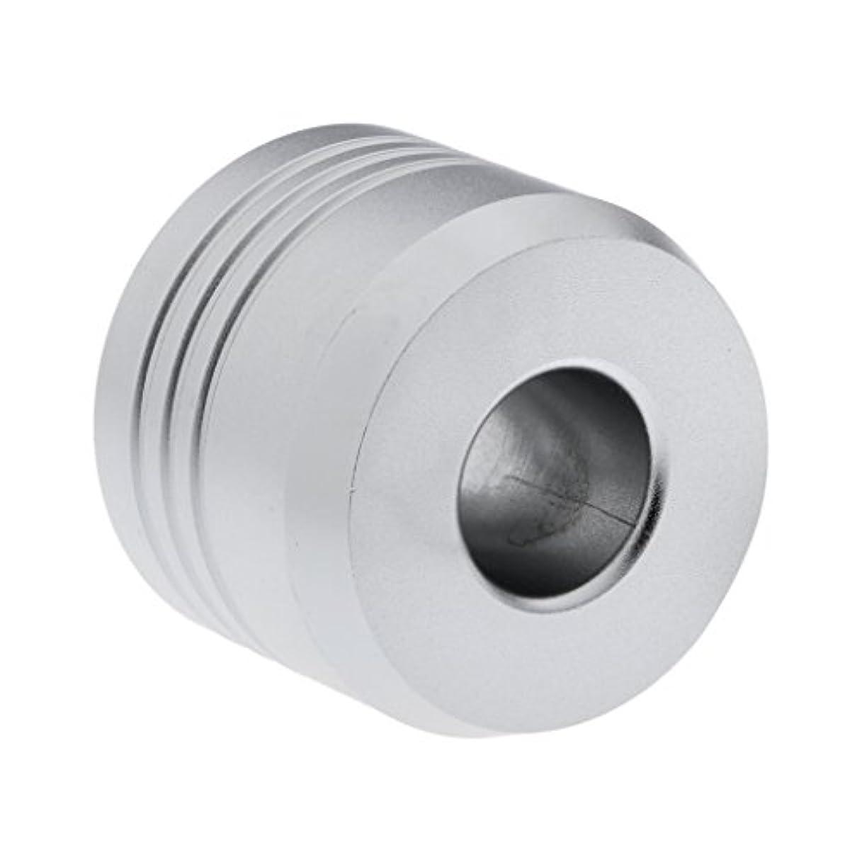 アンドリューハリディ検査官法律Homyl カミソリスタンド スタンド シェービング カミソリホルダー ベース サポート 調節可 ミニサイズ デザイン 場所を節約 2色選べ   - 銀