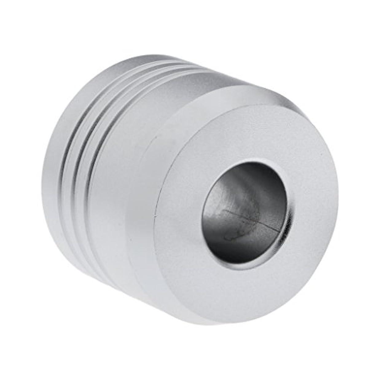 柔らかい足恩恵シャットHomyl カミソリスタンド スタンド シェービング カミソリホルダー ベース サポート 調節可 ミニサイズ デザイン 場所を節約 2色選べ   - 銀