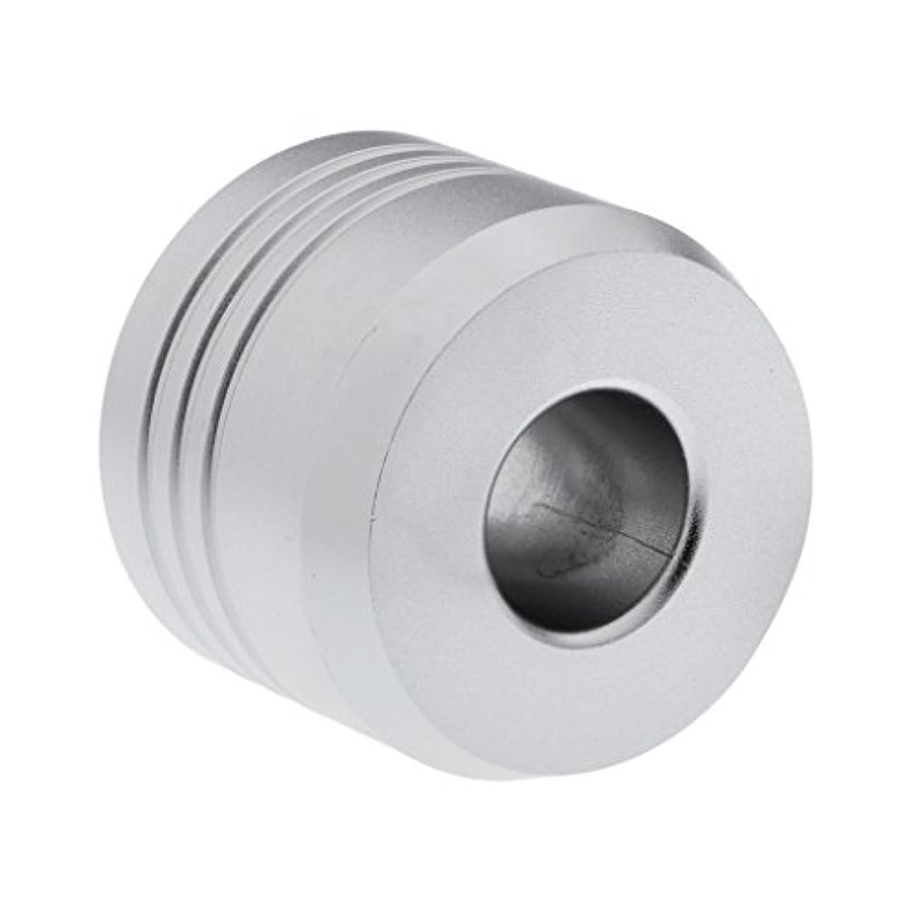 エロチック引き潮誤解するHomyl カミソリスタンド スタンド シェービング カミソリホルダー ベース サポート 調節可 ミニサイズ デザイン 場所を節約 2色選べ   - 銀