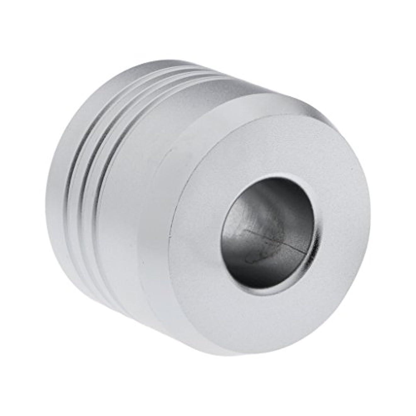 マキシム先行するジェットHomyl カミソリスタンド スタンド シェービング カミソリホルダー ベース サポート 調節可 ミニサイズ デザイン 場所を節約 2色選べ   - 銀