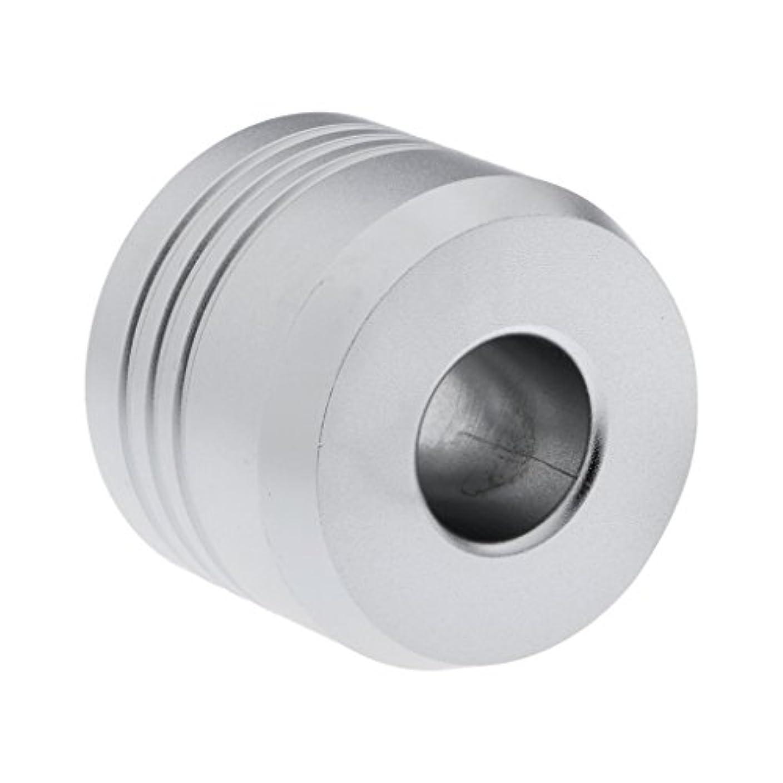 に対処する入射有能なHomyl カミソリスタンド スタンド シェービング カミソリホルダー ベース サポート 調節可 ミニサイズ デザイン 場所を節約 2色選べ   - 銀