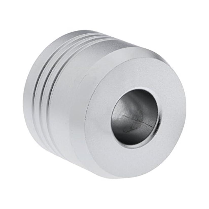 解明拷問アナロジーHomyl カミソリスタンド スタンド シェービング カミソリホルダー ベース サポート 調節可 ミニサイズ デザイン 場所を節約 2色選べ   - 銀