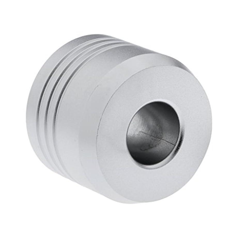 袋流行しているマネージャーHomyl カミソリスタンド スタンド シェービング カミソリホルダー ベース サポート 調節可 ミニサイズ デザイン 場所を節約 2色選べ   - 銀