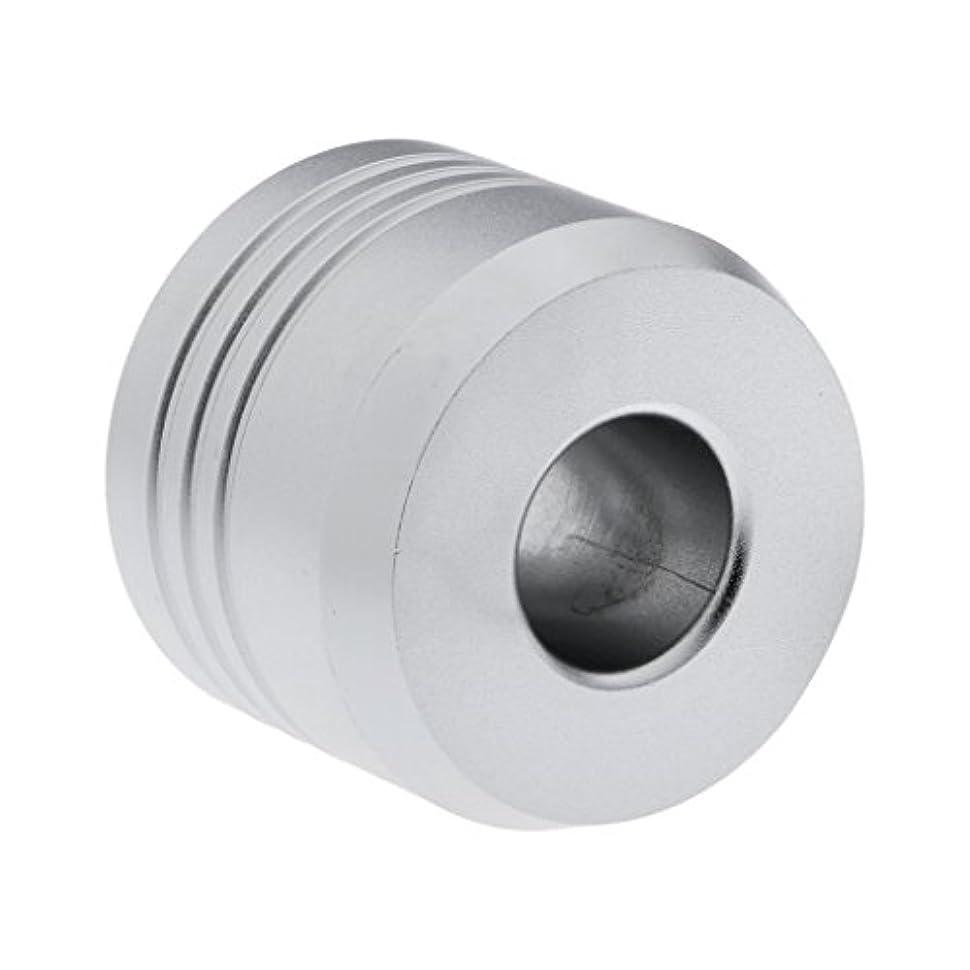 真鍮落胆した助けになるKOZEEY カミソリスタンド スタンド シェービング カミソリ ホルダー ベース サポート 調節可 メンズ 男性 プレゼント 2色選べ   - 銀