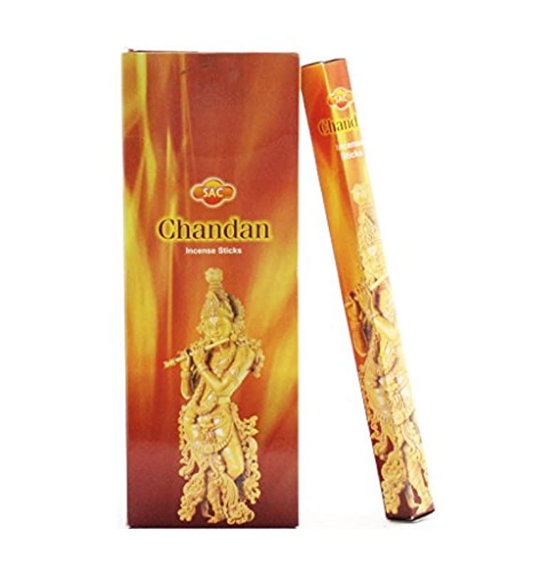 チョーク欠如恋人JBJ Sac Chandan Incense、120-sticks