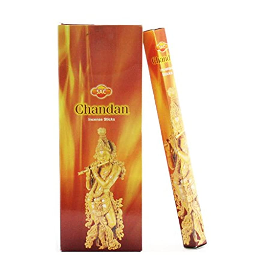 予測する絶妙ベーカリーJBJ Sac Chandan Incense、120-sticks