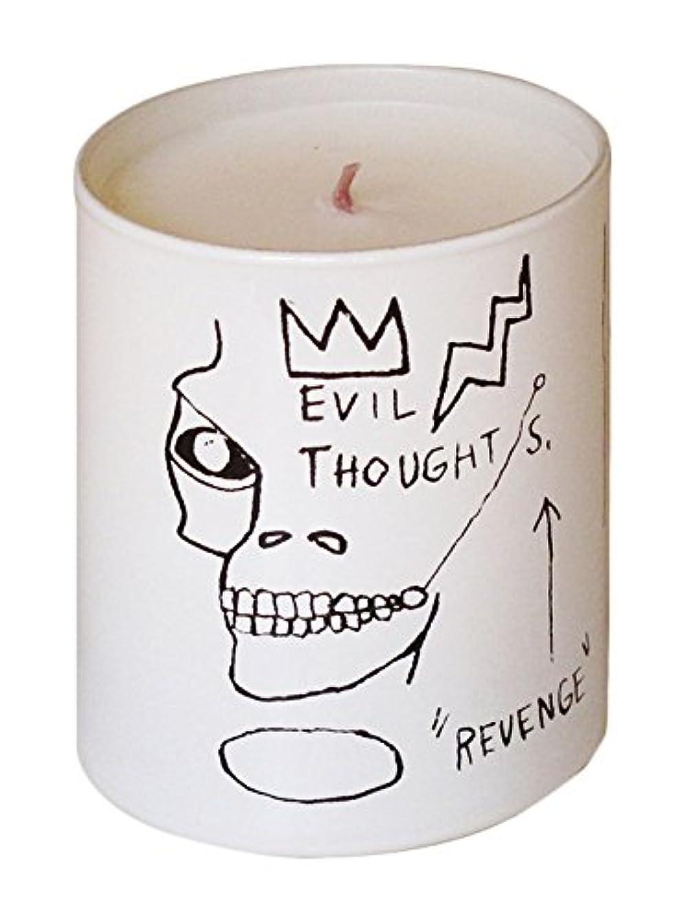 オプショナル資料頂点ジャン ミシェル バスキア リベンジ キャンドル(Jean-Michael Basquiat Perfumed Candle