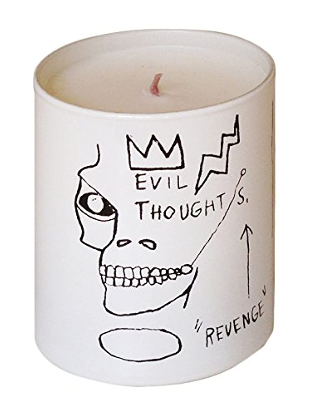 急降下リブ一貫性のないジャン ミシェル バスキア リベンジ キャンドル(Jean-Michael Basquiat Perfumed Candle