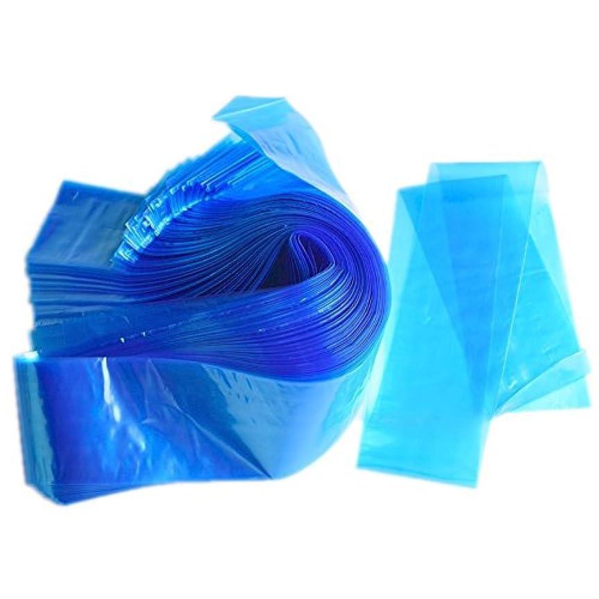 継承吸収剤投資Rabugoo 100Pcs /パックブルータトゥークリップコードスリーブバッグタトゥーマシンのための使い捨てカバーバッグプロフェッショナルタトゥーアクセサリー