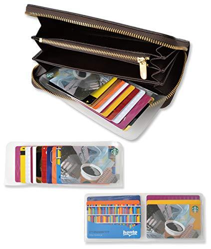 カードケース インナーカードケース 【\2種類セット!/いろんな財布に対応可能】 GUAPO クレジットカードケース [Aタイプ 最大10枚] [Bタイプ 最大12枚] ウォレットイン 薄型 カード入れ