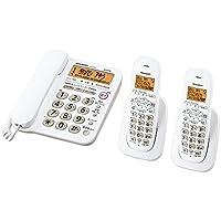 シャープ 電話機 コードレス 子機2台 JD-G32CW