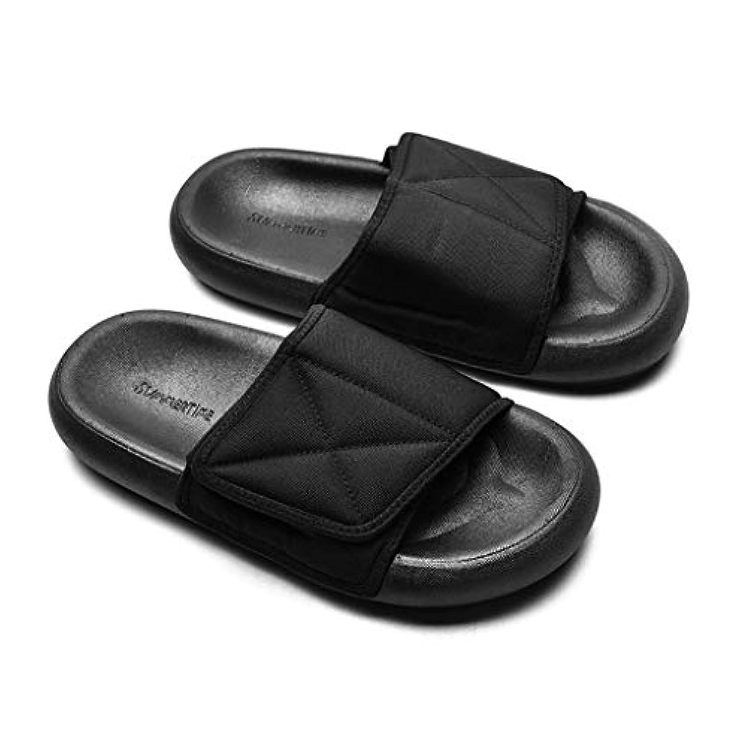 ホームレス論理的に役員Sunskyi-sandals メンズ レディース ファッション サンダル スリッパ ベルクロ ビーチ ジム スリッパ オープントゥ ハウススリッパ