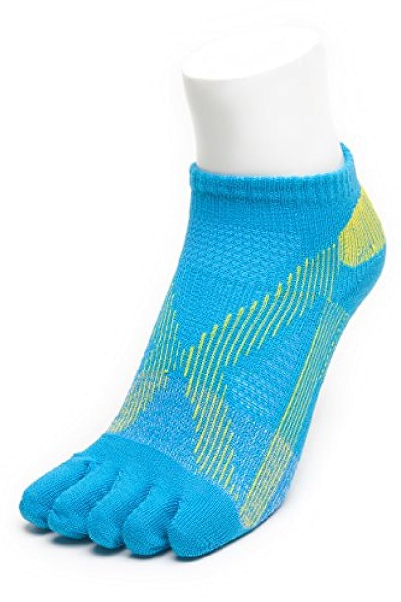 眠いですペッカディロ可能性AIRエアーバリエ 5本指ソックス (22~25㎝?ブルー)テーピング ソックス 歩きやすく疲れにくい靴下 【エコノレッグ】【レディース 靴下】 (ブルー)