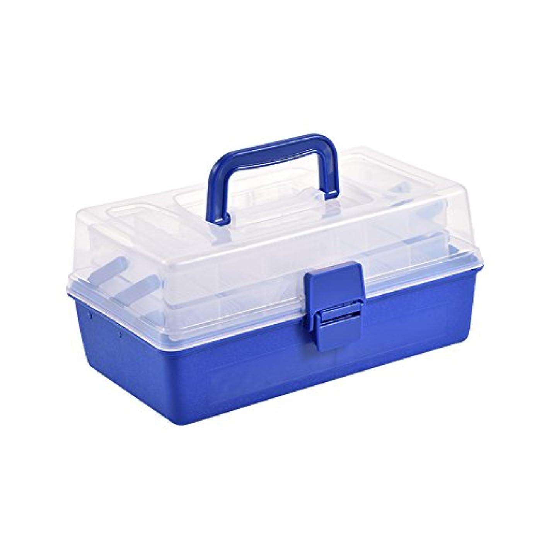 カナダ贅沢欲望3層 釣りタックルボックス 釣りケース 大容量 持ち運び便利 鯉釣り 釣り道具収納箱 釣りアクセサリー