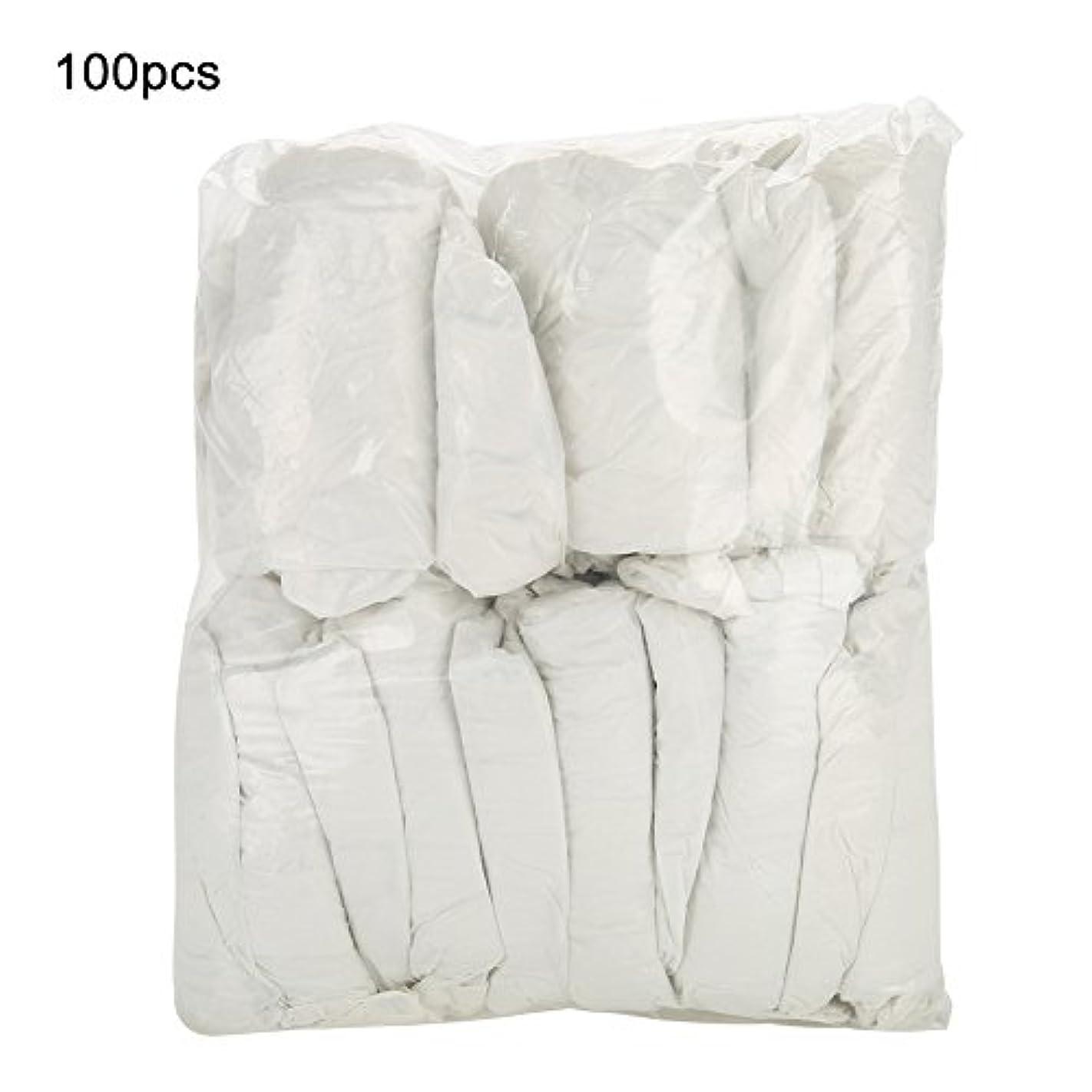 キャラバン軌道論争的Semme 100pcs / bag使い捨てPlasticTattooスリーブ、滅菌タトゥーアームスリーブスリーブレットカバー保護