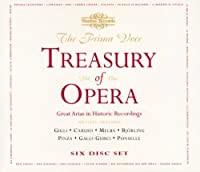 Prima Voce: Treasury of Opera 1 by LECOUVREUR / ORSSINI / MASSENET (2000-02-15)