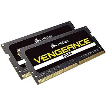 CORSAIR DDR4 SO-DIMM メモリモジュール VENGEANCE SO-DIMM シリーズ 16GB×2枚キット CMSX32GX4M2A2666C18
