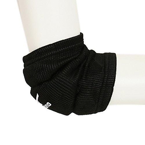 MIZUNO(ミズノ) バレーボール 肘 サポーター ユニ (1個入り) 59SS200 ブラック F フリーサイズ