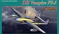 サイバーホビー 1/72 イギリス空軍 戦闘爆撃機 デ・ハビランド・バンパイア FB.5 プラモデル