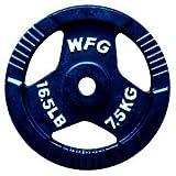 [WILD FIT ワイルドフィット]アイアン7.5kgプレート(2枚)Φ28mm