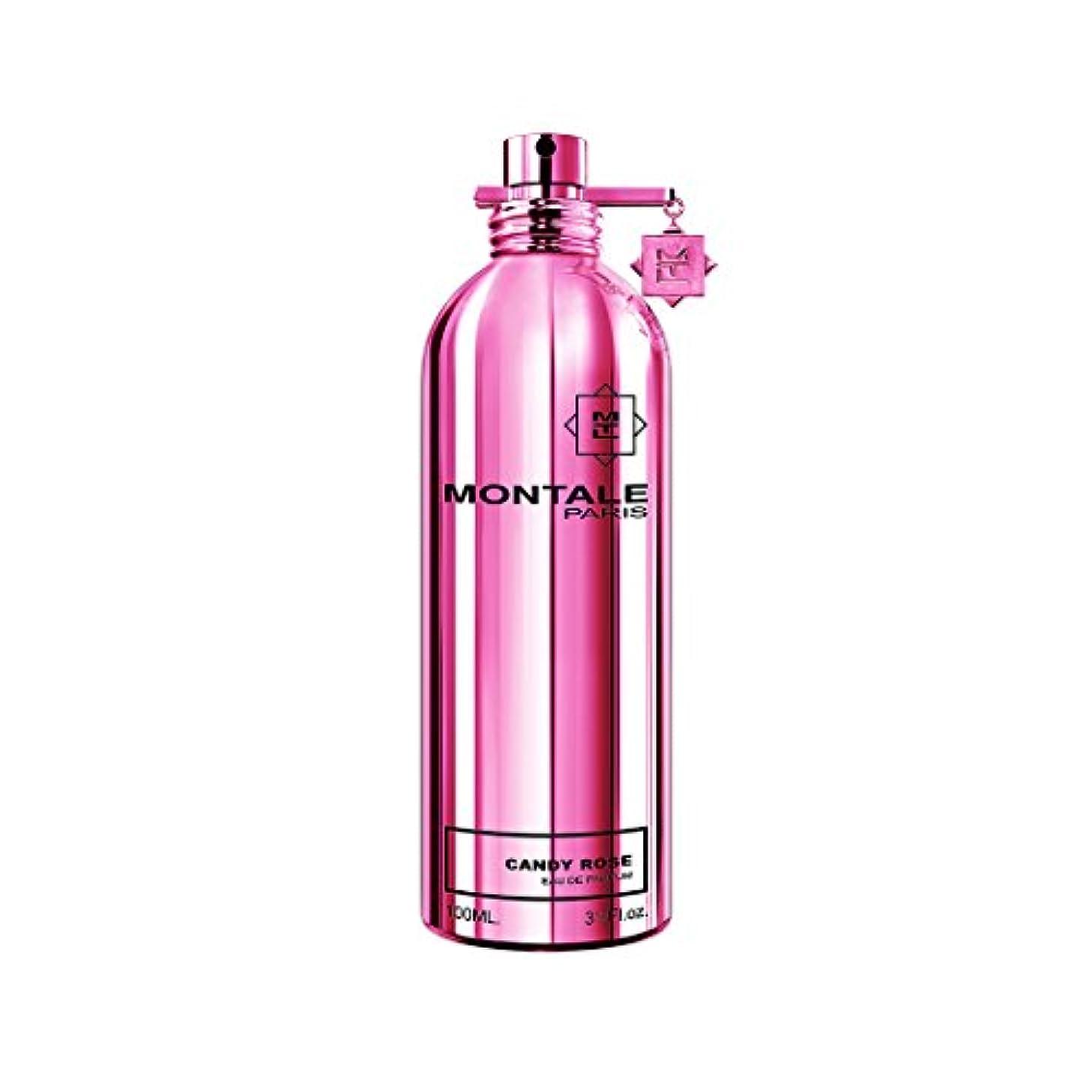 十代の若者たち属性ケープMontale Candy Rose by Montale Eau De Parfum Spray 3.4 oz / 100 ml (Women)