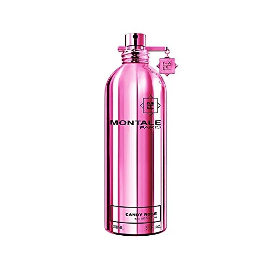 滑りやすいファンタジーぼんやりしたMontale Candy Rose by Montale Eau De Parfum Spray 3.4 oz / 100 ml (Women)