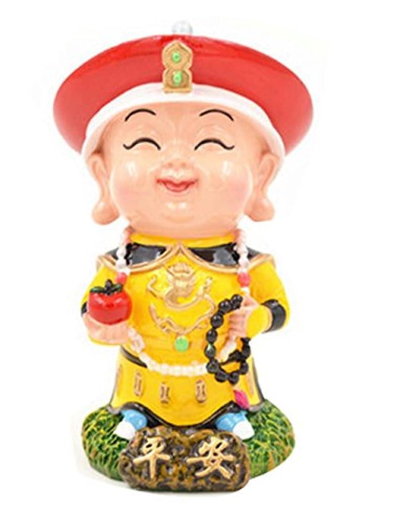 中国スタイルの粘土の置物人形クリエイティブ民芸おもちゃ人形クレイ
